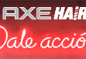 AXE Hair flash cobranded banners