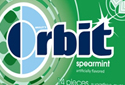 Orbit Spearmint - sweeps page